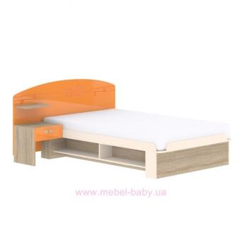 Кровать T-L-21 Edican Троянда оранжевая
