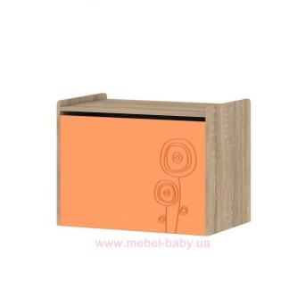 Тумба T-TI-01 Edican Троянда оранжевая