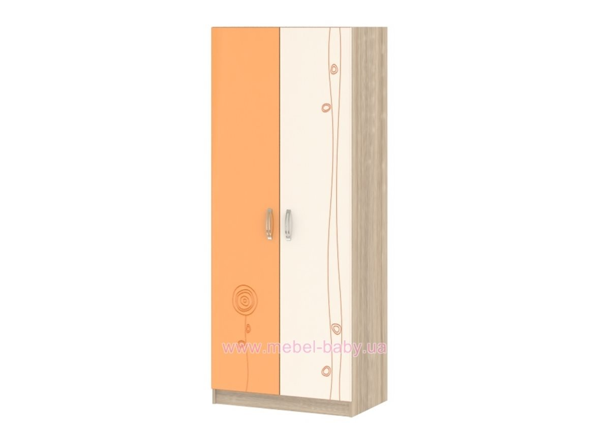 Шкаф T-SH-02 Edican Троянда оранжевая