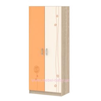 Шкаф T-SH-03 Edican Троянда оранжевая