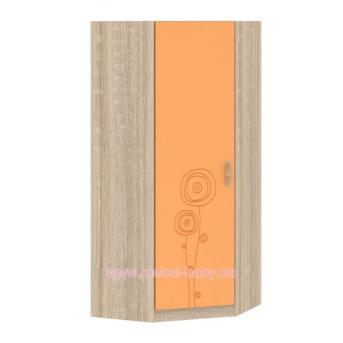 Шкаф T-SH-04 Edican Троянда оранжевая