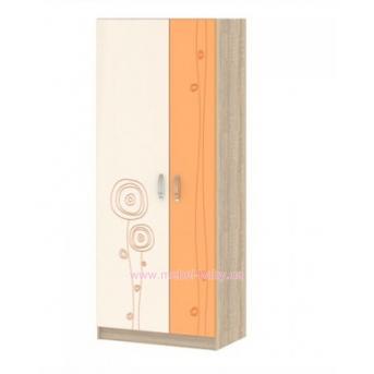 Шкаф T-SH-06 Edican Троянда оранжевая