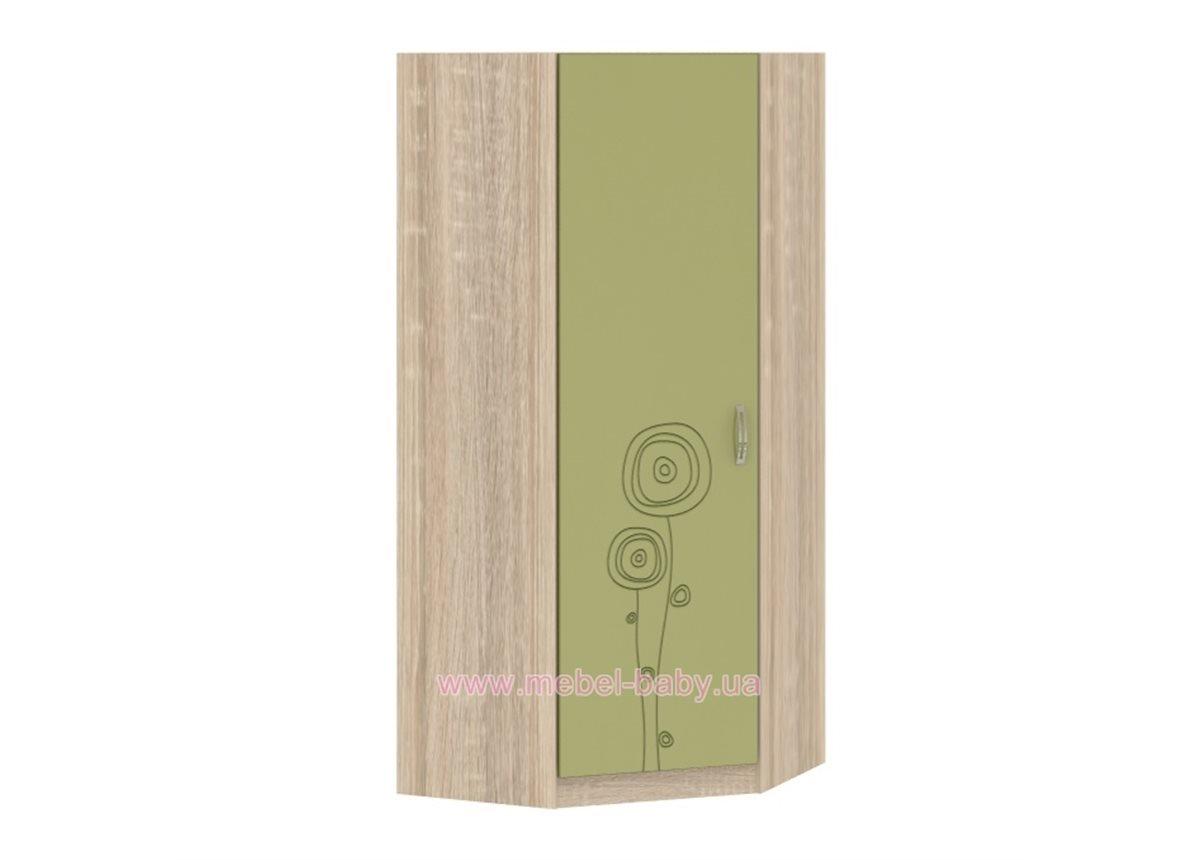 Шкаф T-SH-04 Edican Троянда оливковая