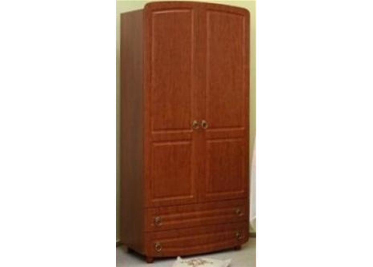 Шкаф №1 Верес ольха филенчатый