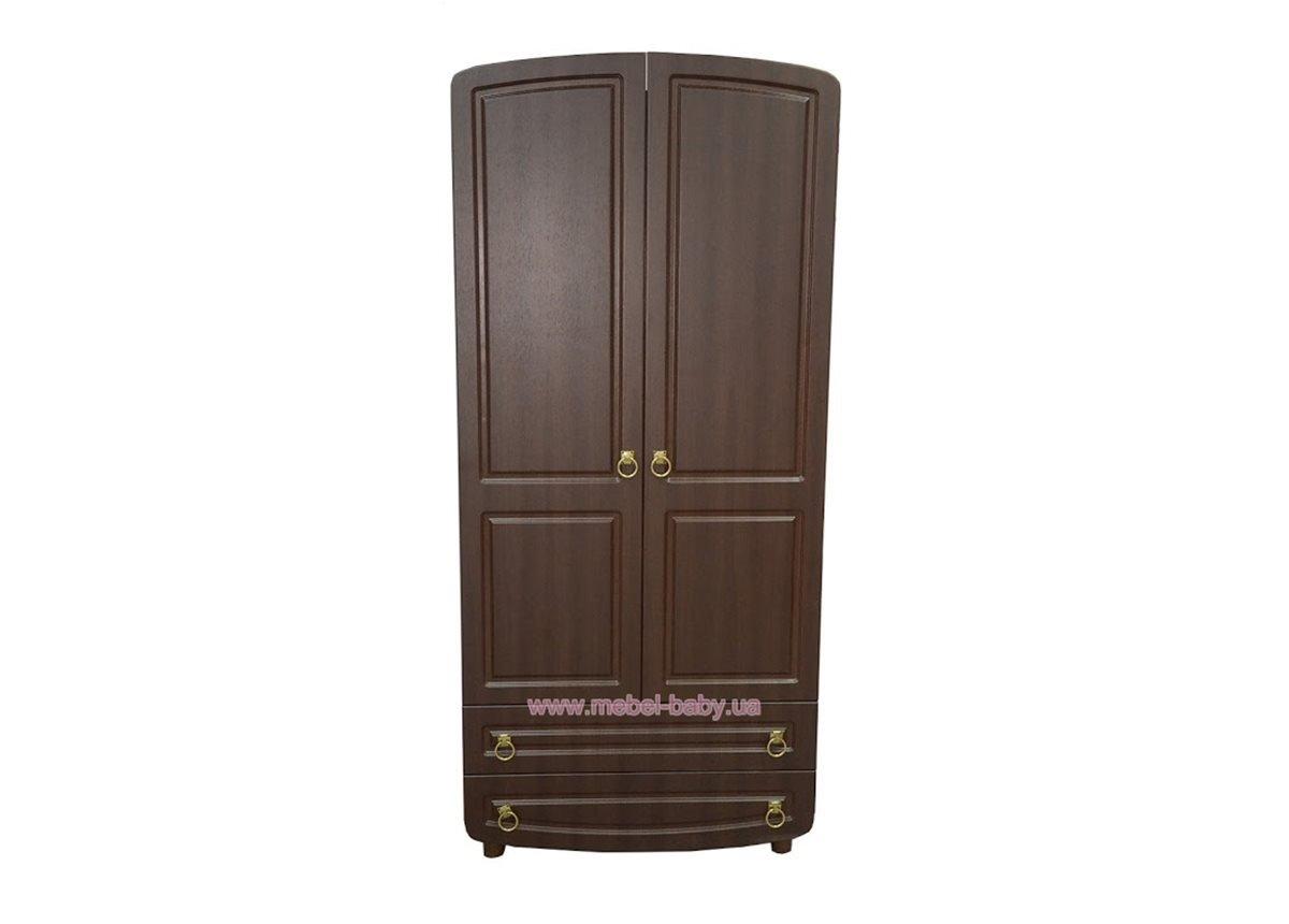 Шкаф №1 Верес орех филенчатый