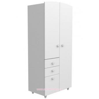 Шкаф №2 Верес белый
