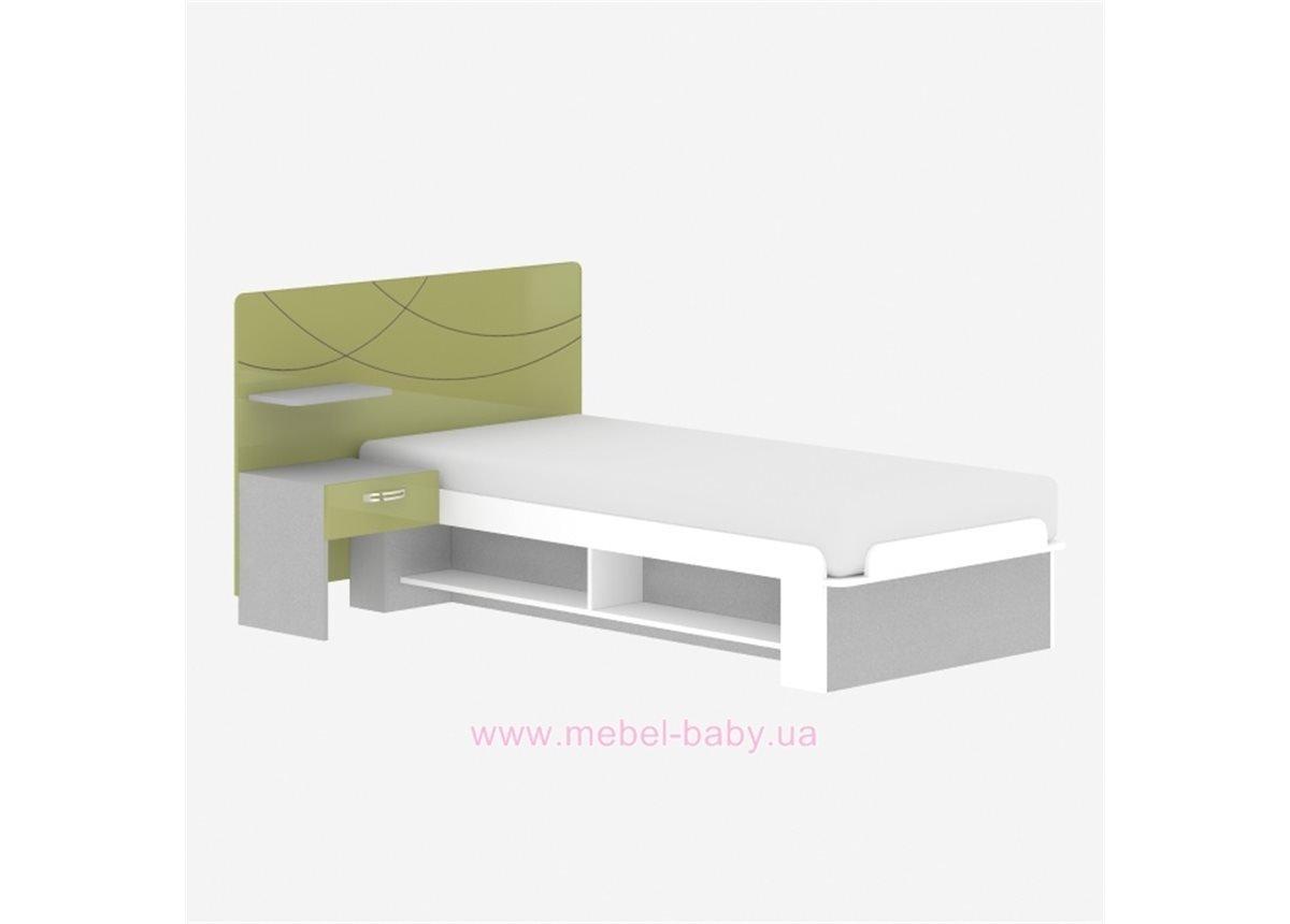 Кровать F-L-20 Edican Фантазия оливковая