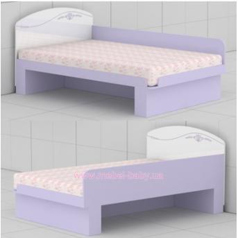 Кровать L-27 (1200) Гламур