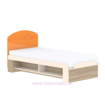 Кровать T-L-24 Edican Троянда оранжевая