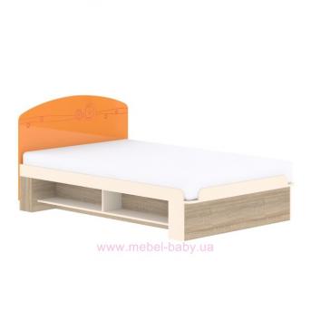 Кровать T-L-25 Edican Троянда оранжевая