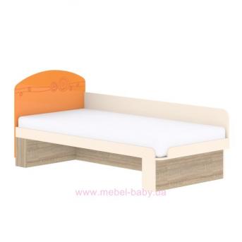 Кровать T-L-26 Edican Троянда оранжевая
