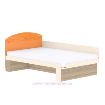 Кровать T-L-27 Edican Троянда оранжевая