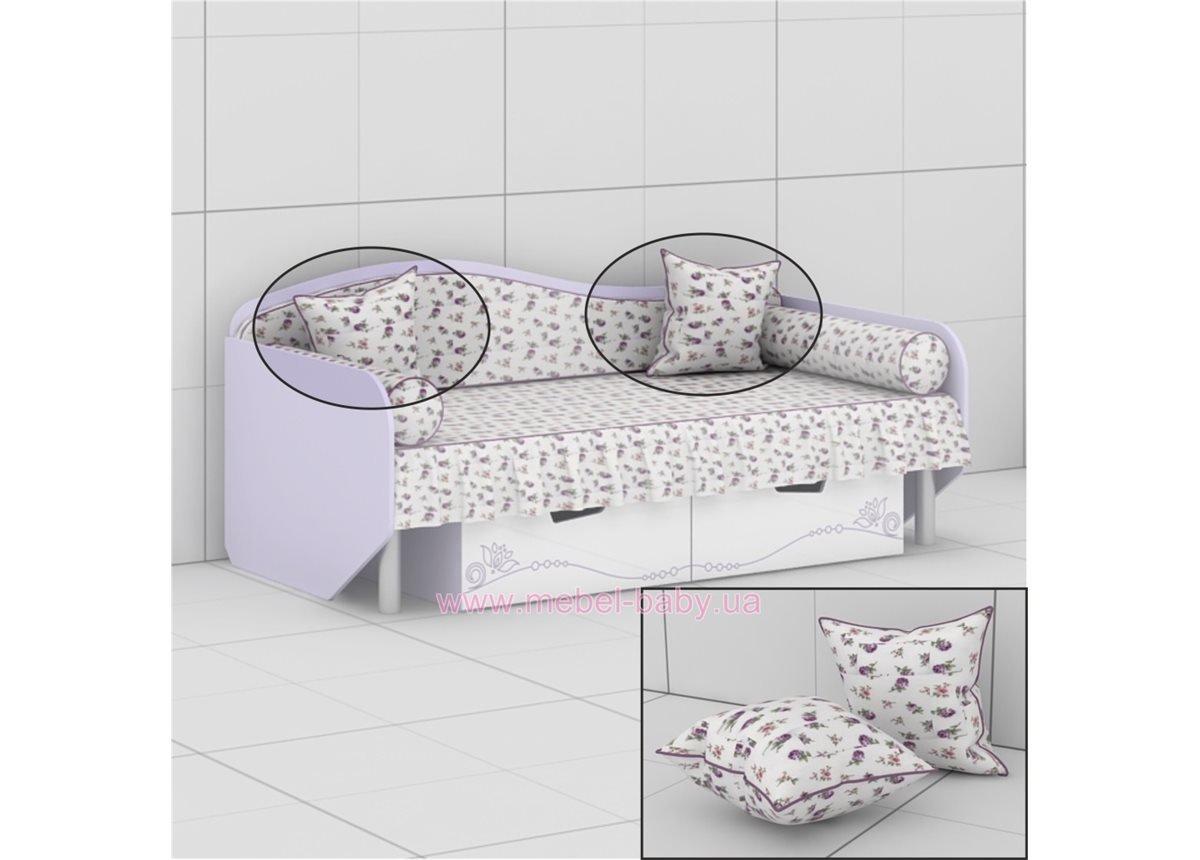 Подушка к кровати L-05 (L-06) Гламур