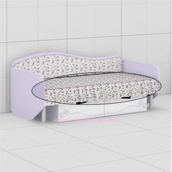 Чехол на матрас и декоративная рюшка к кровати L-05 (L-06) Гламур