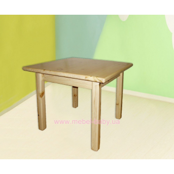 Детский столик из сосны
