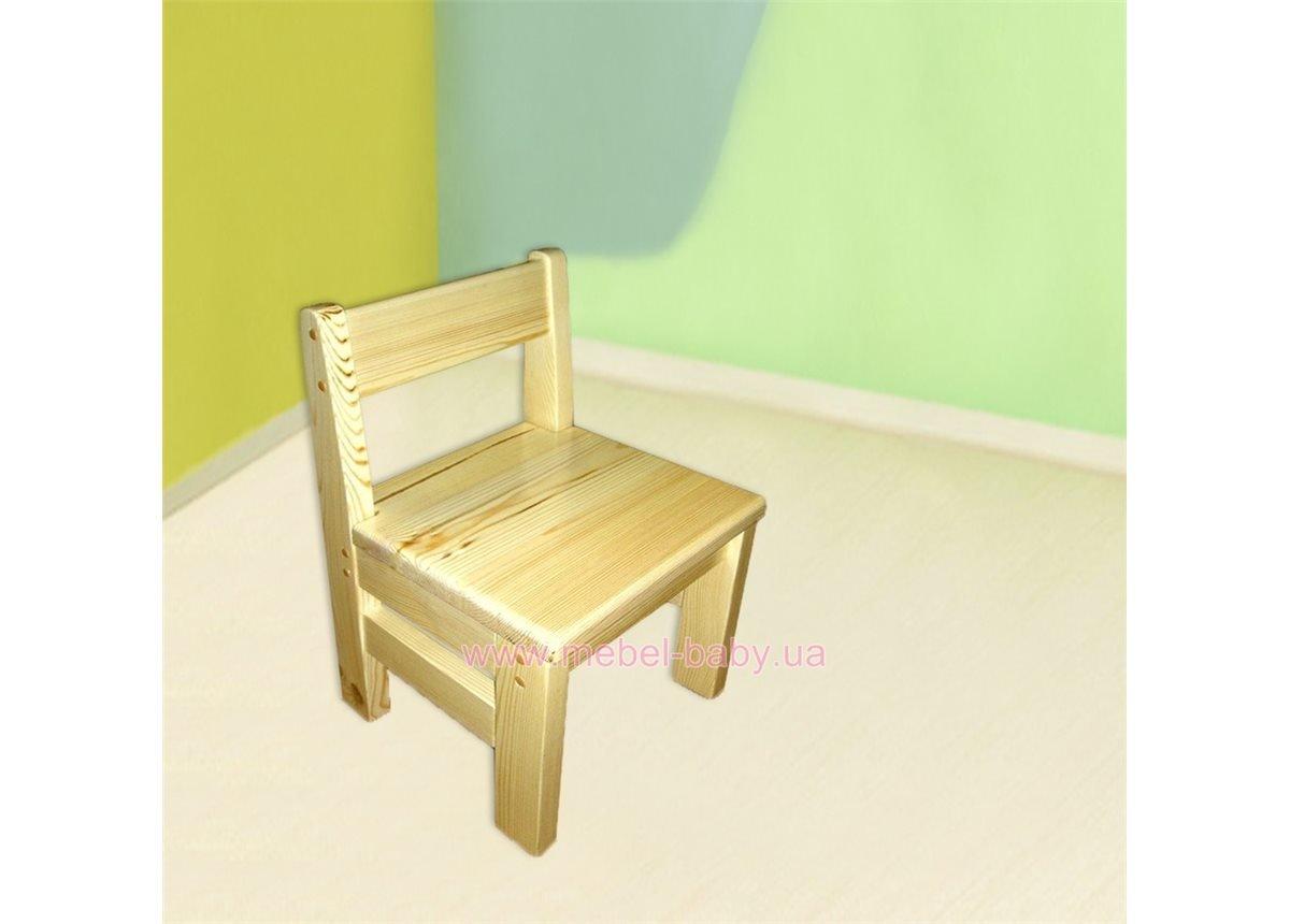 Детский стульчик из сосны