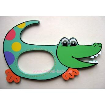 Рамочка для фото Крокодильчик