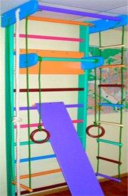 Деревянные цветные спортивные стенки