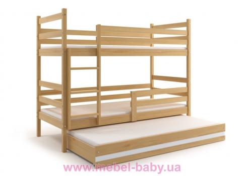 Двухъярусные кровати с доп. спальным местом
